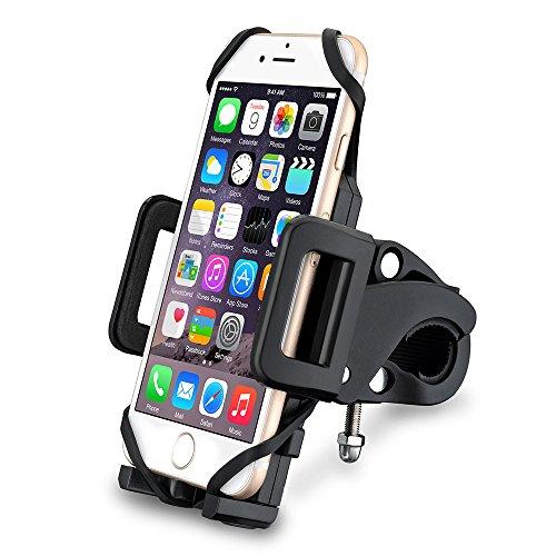Support-Vlo-du-Guidon-VicTsing-Support-Universel-Tlphone-Rotatif--360-Bracelet-en-Caoutchouc-Taille-Rglable-Compatible-avec-iPhone-SE-6S-6S-Plus-6-5S-Galaxy-S6-Edge-S6-S5-GPS-Kindle-etc