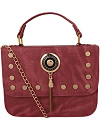 purses for women branded leather by EDGEKART | Stylish shinning PU Leather Handbag For Women and Girls