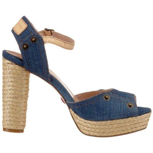 Fornarina GYPSY PEFGY7431WJ11, Sandales mode femme Bleu