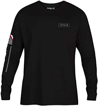 Hurley Men's M Right Arm L/S Tee Tees