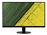 Acer SA230bid Monitor da 23', 16:9, IPS Panel, Risoluzione 1920x1080, 250 cd/m2, Response Time 4 ms, Input: VGA+DVI (w/HDCP)+HDMI(1.4), Nero