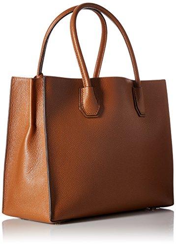 Michael Kors Mercer, Borsa Tote Donna, Marrone (Luggage), 26x21.6x12.7 cm (W x H x L)