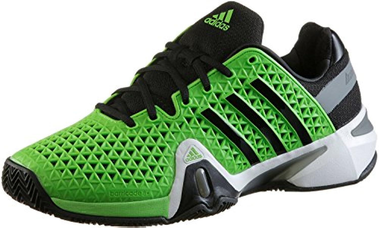 adidas Adipower Barricade 8 + Zapatillas de tenis de arcilla para hombre m18580 verde