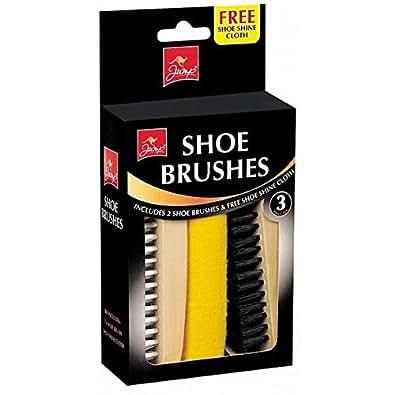 Jump - shoe brushes with free shoe shine cloth