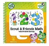 Leapstart Nursery: Scout & Friends Maths Activity Book (3D Enhanced)