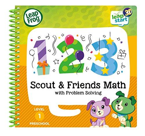 LeapFrog 460703 Scout & Friends Maths 3D Livre d'activités d'apprentissage Jouet, Multi, Taille Unique