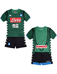 ssc napoli 3032uq0, Kit Gara Portiere 2018/2019 Bambino