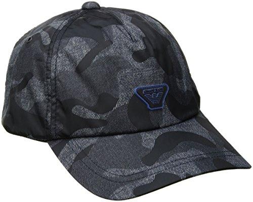 Armani Jeans Kappe verstellbar Herren Baseball Cap Basecap hut blu EU UNI 934052 7P924 40435