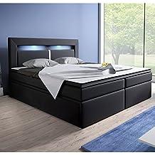 Home Collection24 GmbH Matelas Ressorts Bonell de lit à sommier tapissier 180  x 200 cm avec fd812f1f1bd2