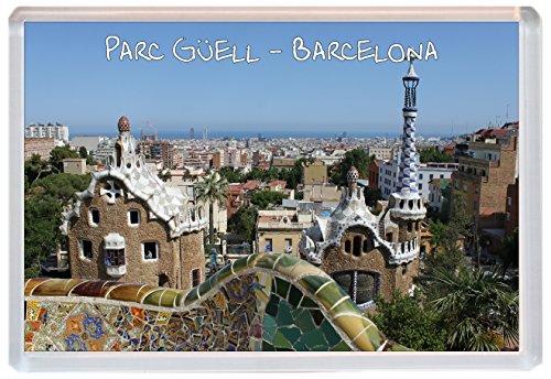 Parc Guell / Gaudi - Barcelona - Spain- Jumbo Fridge Magnet - Brand New Gift/Present/Souvenir