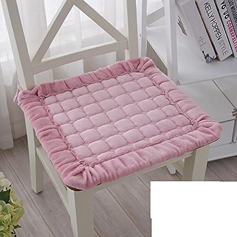 Semplice-peluche sedia pad antiscivolo a casa/Tessuto coprisedili/ sala da pranzo