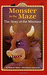 Monster in the Maze: The Story of the Minotaur (All Aboard Reading) by Stephanie Spinner (2000-10-05)