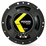 Kickers 43DSC6704 6.5-Inch Coax Circuit Breaker Black