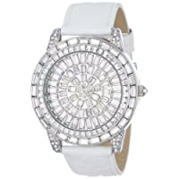 Peugeot Women's J6013 Couture Swarovski Crystal Evening Watch