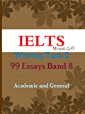 IELTS Writing Task 2 - 99 Essays Band 8 - Academic and General