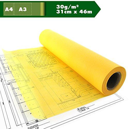 skizzenpapier-skizzenrolle-gelb-tracing-paper-transparentpapier-a3-a4-30g-m-12in-x-50yd-ca31cm-x-46m