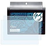 Bruni Schutzfolie für Lenovo Yoga Tablet 2-10 Folie - 2 x glasklare Displayschutzfolie