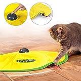 4 Geschwindigkeiten Katzenspielzeug Undercover Maus Stoff Cat 's Meow Interaktive