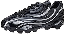 Nivia Boys Black and Football Shoes - 13 UK (318)