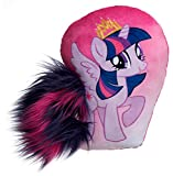 Joy Toy 95005 – Twilight Sparkle Cojín con Peluche para Cola DE 30 cm, Multicolor