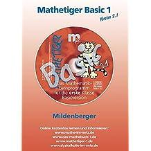 Mathetiger Basic 1 Version 2.1. CD-ROM. Bayern