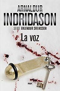 La voz par Arnaldur Indridason