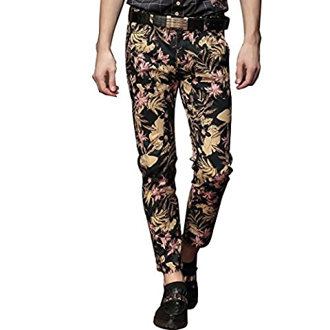 FANZHUAN - Pantalon - Homme multicolore Multicoloured - multicolore - 43