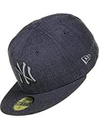 New Era New York Yankees Heather Pop Cap 59fifty Basic Fitted Basecap Kappe Mens