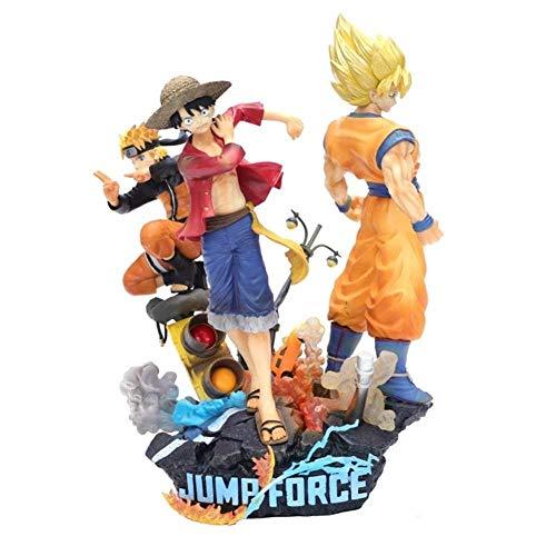 Final Naruto Kostüm - MA SOSER Final Fantasy Actionfigur, Spielzeugmodell Anime One Piece Sun Wukong Naruto Ruffy Model Modellierung