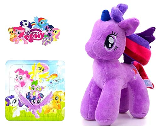 My Little Pony Twilight Sparkle peluche - Felpa + Puzzle