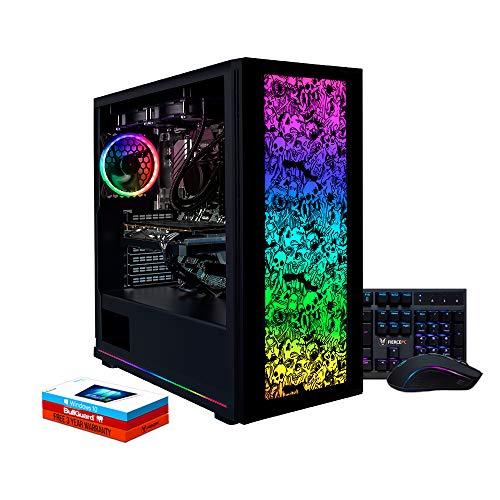 Fierce Chaos High-End RGB Gaming PC Bundeln - Schnell 4.6GHz Hex-Core Intel Core i5 9600K, 512GB M.2 SSD, 16GB 3000MHz, NVIDIA GeForce RTX 2080 Ti 11GB, Windows 10, Tastatur Maus (VK/QWERTY) 1139627