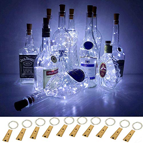 Luces inteligentes 5 modos regulables botella vino
