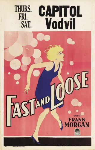 Fast and Loose Plakat Movie Poster (11 x 17 Inches - 28cm x 44cm) (1930) B