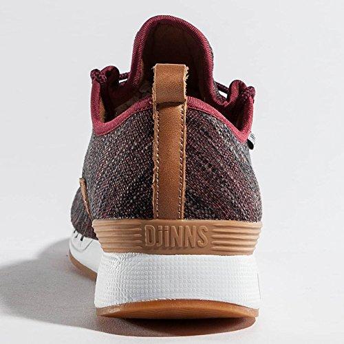 Djinns Homme Chaussures / Baskets Moc Lau Rouge