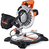 VonHaus 1400W Mitre Saw 210mm Blade with 15°, 22.5°, 30° and 45° Key