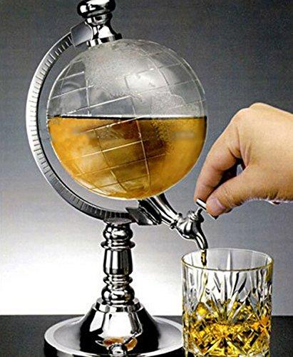 Globe Weinausgießer Barware Mini Beer Ausgießer Wasser Flüssigkeit Getränkespender Weinpumpe Spender Maschine