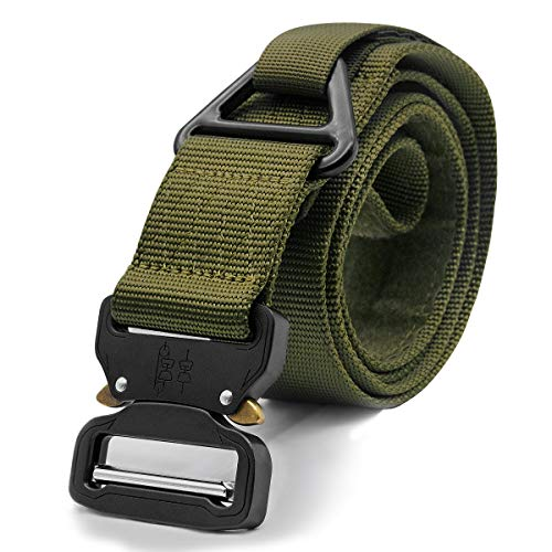 Herren Tactical Belt - Heavy Duty Gurtband Einstellbare -