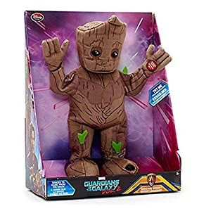 Official Disney Guardians Of The Galaxy Vol 2 33cm Dancing Groot Plush With Sound