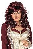 Damen Perücke Südstaaten Lady Barock Marquise Karneval Fasching