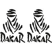 Pegatinas para coche, diseño de Ducati Monster de Dakar, 25 cm