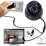 Citra CCTV Dome DVR Camera TV-Out SD-Card, Night Vision, Remote Control with SD Card Recording, 3GP Video Format