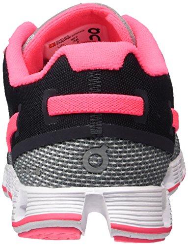 On Running Cloud Grau (Grey / Neon Pink)