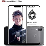 Original Premium Honor Play Tempered Glass – Wow Imagine Premium Full Glue Honor Play Tempered Glass, Full Edge-Edge Screen Protection For Huawei Honor Play - Black