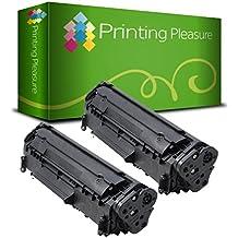 Pack 2 Unidades Canon EP27 Tóner compatible con Canon MF5550, MF5630, MF5650, MF5730, MF5750, MF5770, LBP3200, MF3110, MF3112, MF3220, MF3228, MF3240