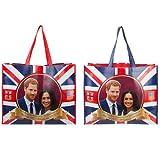 The Royal Wedding Commemorative Harry & Meghan Reusable Laminated Shopping Bag
