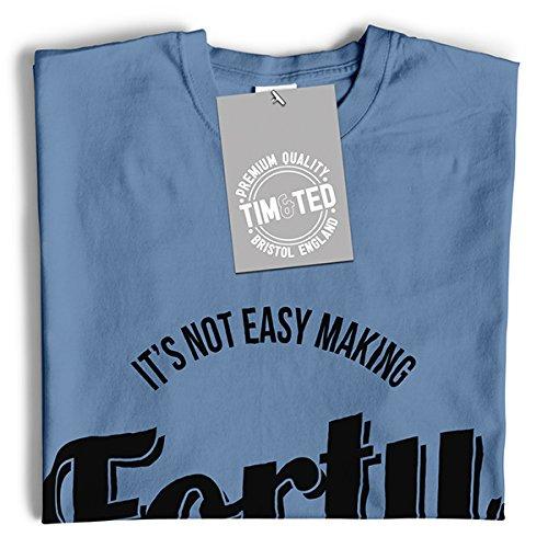 Es ist nicht leicht zu machen Vierzig Blick Dieses Gut Cool Lustig Slogan Herren T-Shirt Chocolate Brown