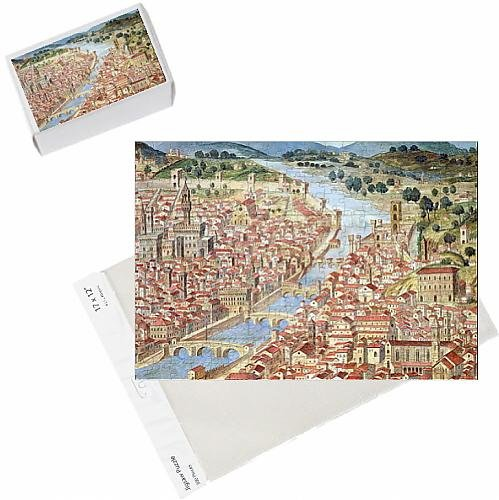 photo-jigsaw-puzzle-of-the-carta-della-catena-showing-a-panorama-of-florence-1490-detail