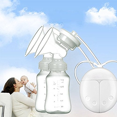 Breast Pump Electric Dual Breastpumps Breast Suction Massager Breast Care For Breastfeeding Postpartum Prolactin 51TxdRFtTOL