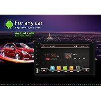 Nuevo producto 2G RAM 32G ROM 2DIN Android 6.0coches reproductor de DVD 6.2pulgadas con estéreo de navegación GPS Soporte Bluetooth Wifi espejo Link volante DAB DAB AM/FM con libre cámara