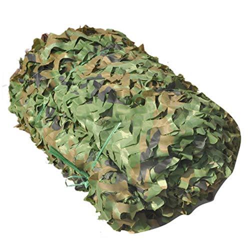 Sun Mesh Schutz Doppellagiger Stoff Nicht Stoff Gewebe Camouflage Army Green Nascondersi In den Jungla Creme für Auto Schatten Balkon UV Imitation Del Farbe Hintergrund Dekoration für Haus 3x5m - 50 Velo-fan